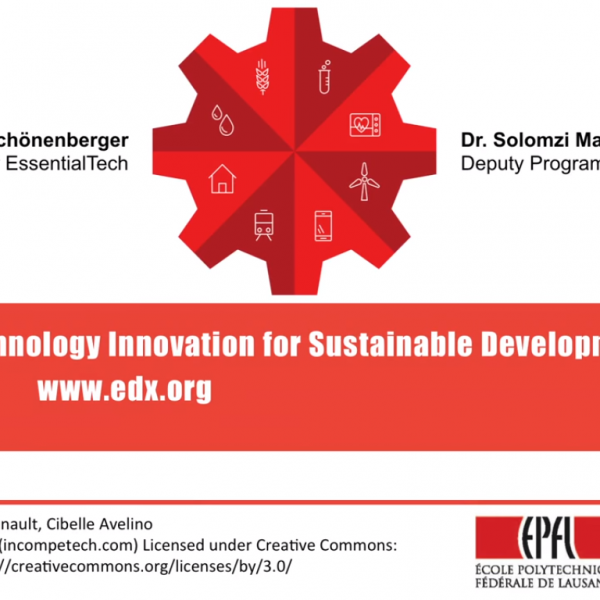 Technology Innovation for Sustainable Development