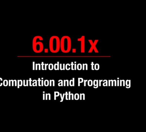 Introduction to Computer Science and Programming Using Python