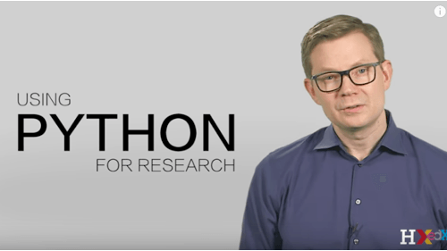 using-python-for-research