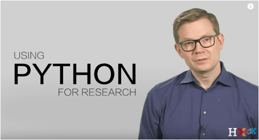 Using Python for Research